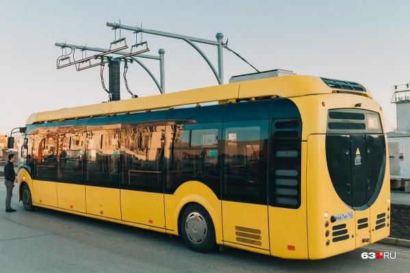 """По расписанию электробусы должны&nbsp;<a href=""""https://63.ru/text/transport/66413491/"""" target=""""_blank"""" class=""""io-leave-page _"""">курсировать</a> шесть раз в день"""