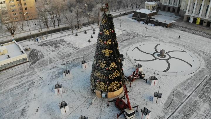 Как наряжают Тюмень к Новому году: 20 фотографий, которые подарят вам ощущение праздника