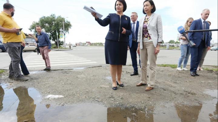 Единственная женщина — глава района в Челябинске подала в отставку