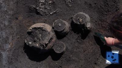 Под Самарой обнаружили захоронение 4 века нашей эры