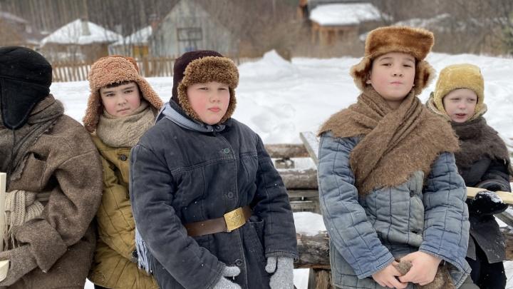 В Екатеринбурге больше сотни детей снимутся в фильме о войне