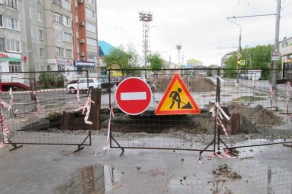 Коммунальные аварии на улице Куйбышева случаются несколько раз в год