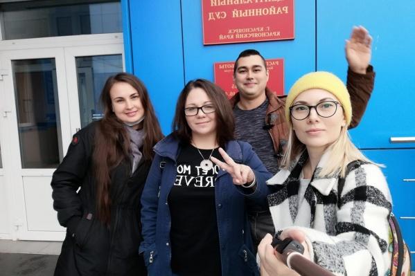 Анастасию Корсакову осудили за нарушение режима ограничений