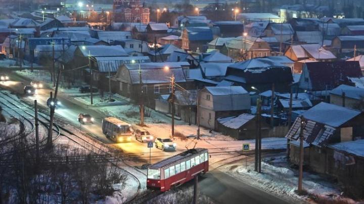 Агентство Reuters назвало фото одноэтажного Омска снимком года