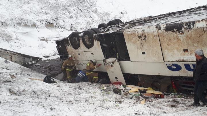 Погибшие с одного рейса: под Тамбовом при крушении в овраг автобусов пострадали 18 волгоградцев