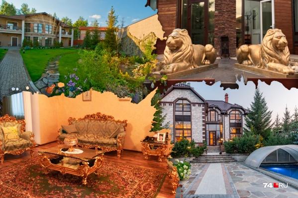 У домов из топ-5 самых дорогих роскошны не только внутреннее убранство, но и дворы с различными фишками