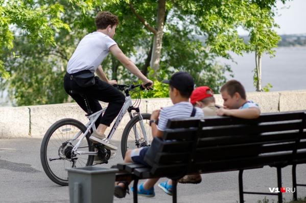 Летом столбики термометров в Волгограде поднимаются до +40