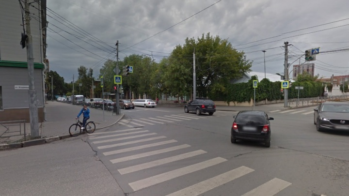 Пешеходы под колёсами: самые аварийные перекрёстки Самары в одной картинке