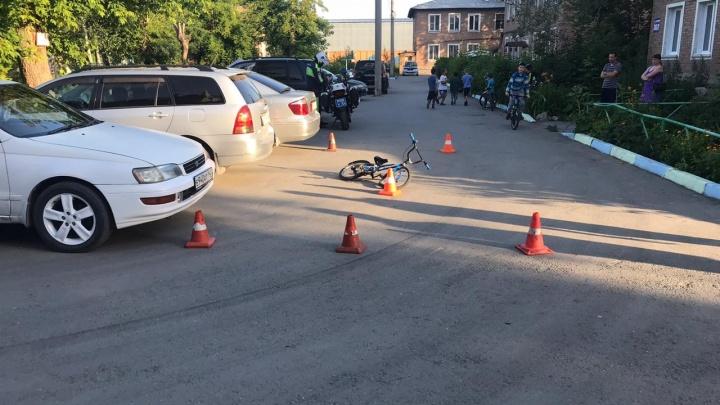 В Ленинском районе таксист сбил 6-летнего ребёнка и скрылся с места происшествия