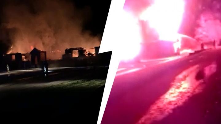 Пожар в детской православной гимназии: фото и видео с места происшествия