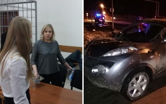 Суд отправил в колонию женщину, которая переехала девушек в Белоярском