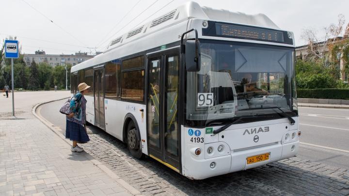 В Волгограде общественный транспорт возвращается на привычные маршруты