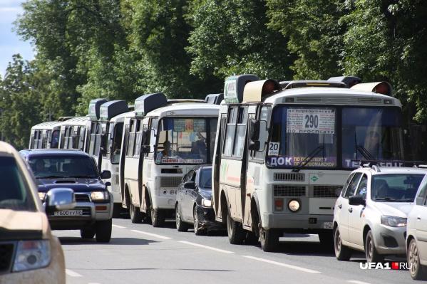 Жалобы на расписание автобусов появляются время от времени на странице Радия Хабирова