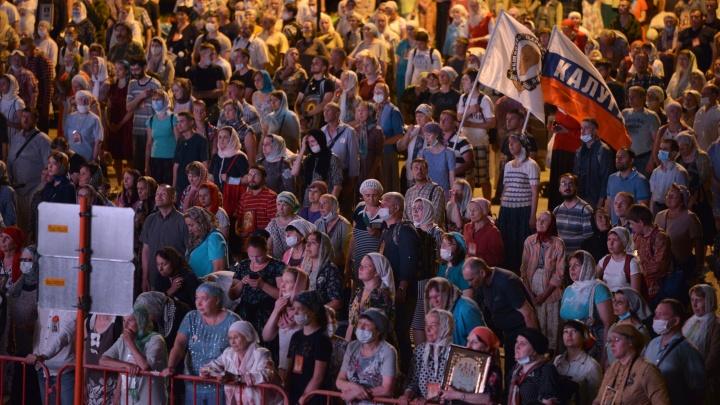 После демарша митрополита свердловские власти предложили вариант проведения крестного хода