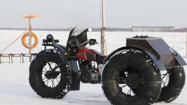 В Архангельске ищут владельцев автомобилей и каракатов, которые выезжают на лед
