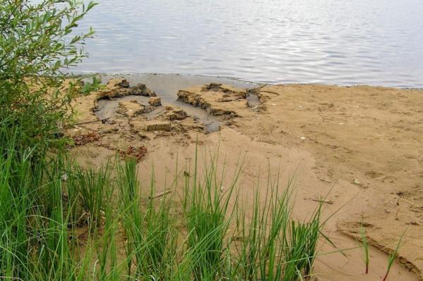 Мальчик купался на Семёновском пруду