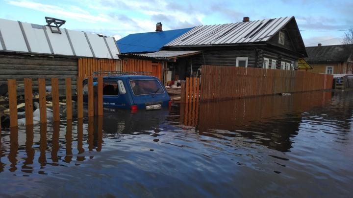 В Вельском районе ввели режим повышенной готовности из-за паводка