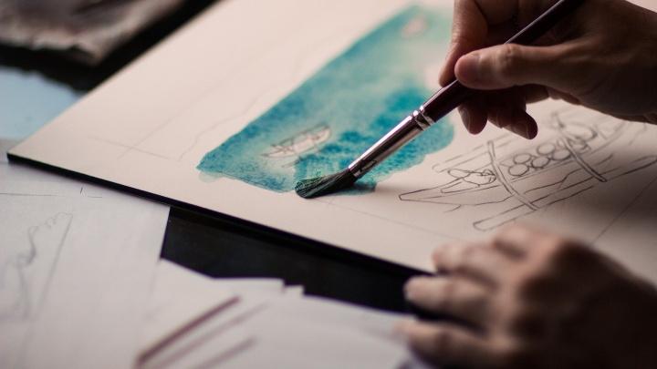 Для школьников проведут бесплатные онлайн-мастер-классы по рисованию и писательскому мастерству