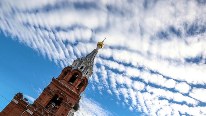 Фоторепортаж NN.RU: необычные облака проплывают над Нижним Новгородом