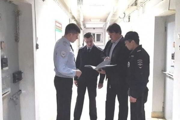 Член СПЧ посетил арестованных