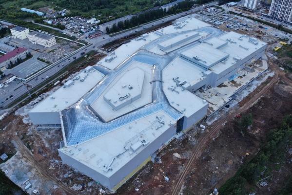 Торговый центр планировали открыть в последнем квартале 2020 года