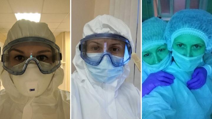 Первая бригада медиков вышла из изоляции в пульмонологическом госпитале 20-й больницы