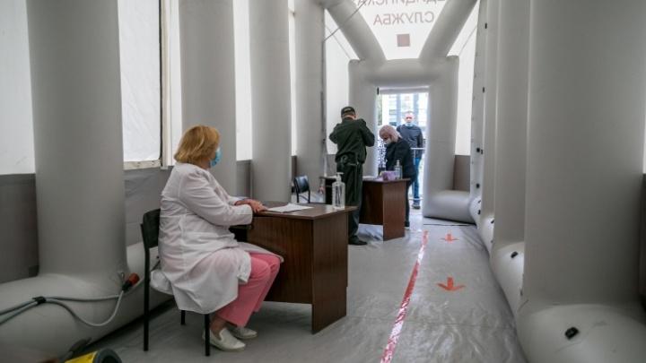Коечный фонд инфекционных госпиталей в крае занят почти на 74%