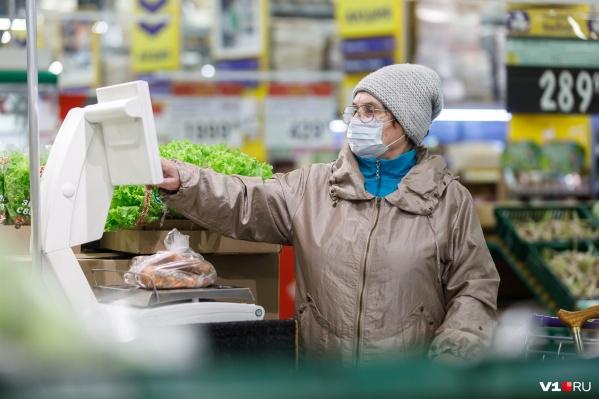 Во время пандемии коронавируса волгоградцы запасают богатые витаминами продукты