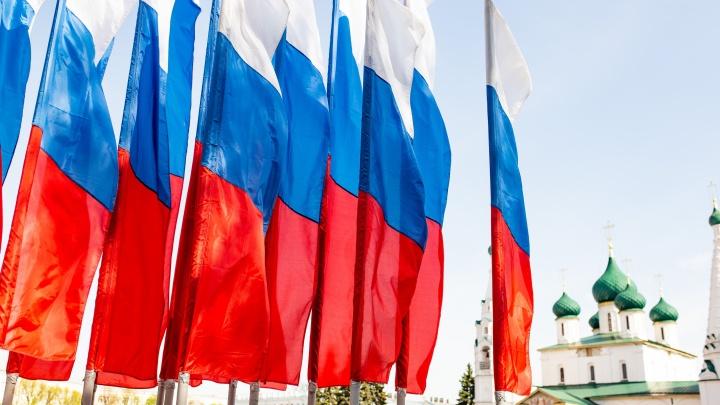 Ярославские власти потратят почти 600 тысяч на покупку триколоров ко Дню города