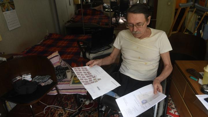 «Повезло, что беда случилась на исходе жизни»: журналист в инвалидном кресле — об отношении государства