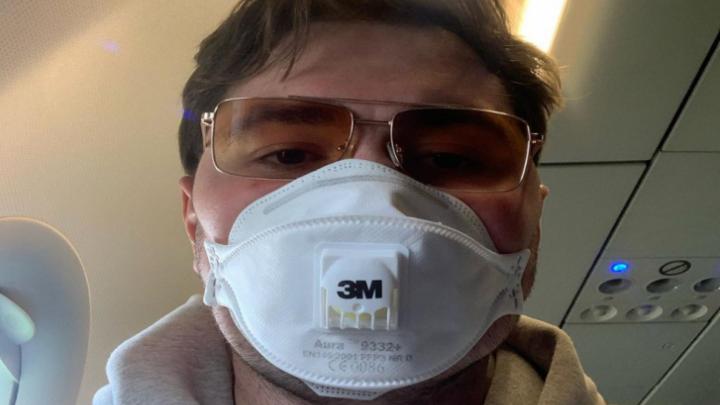 Бизнесмен Виктор Скуратов передал тысячу масок для омских врачей