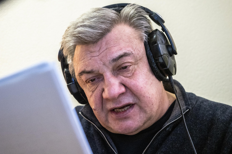 Сергей Кошонин, заслуженный артист России.