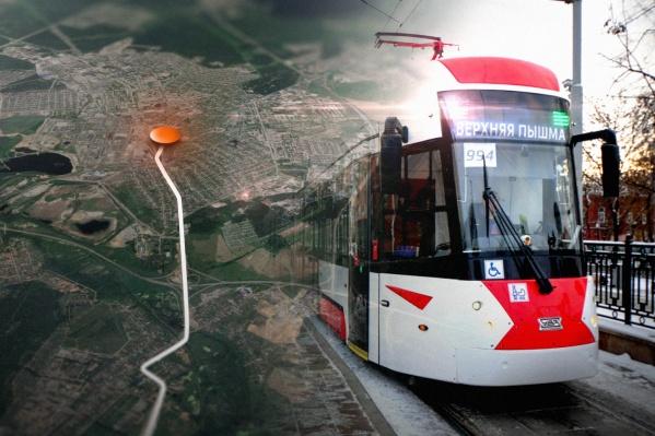 Рассказываем, где будет останавливаться скоростной трамвай