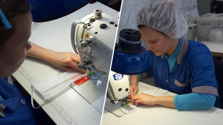 «Вместо одежды шьём маски»: ярославская компания, чтобы выжить, перестроила всю работу