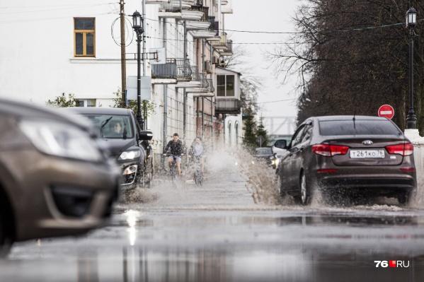 Сегодня и завтра в Ярославле — большая вероятность дождей