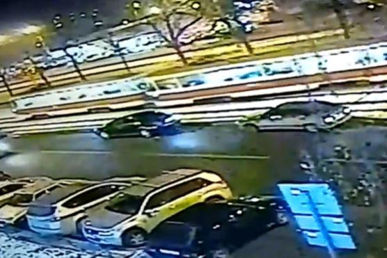Появилось видео момента схода трамвая с рельсов на Антонова- Овсеенко