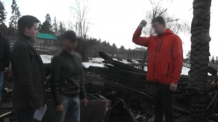В Башкирии мужчина ограбил инвалида и поджег дом, в котором тот жил со своей бабушкой