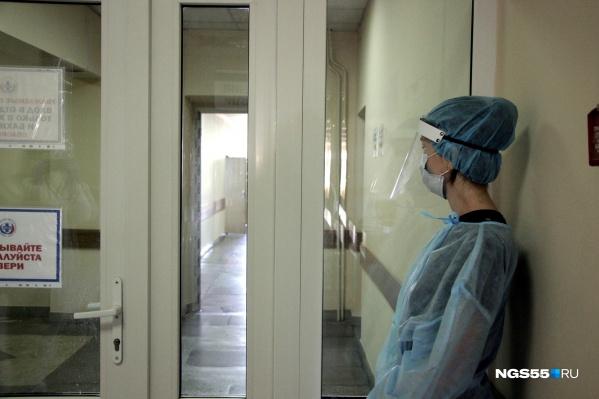 Смертность пациентов с ковидом в Омской области превышает 1%