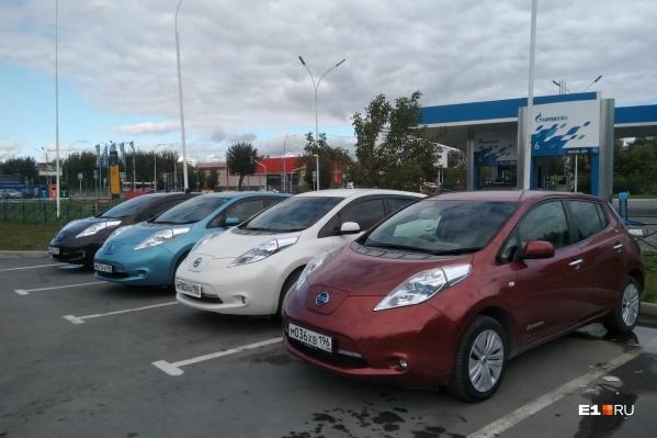 Своим автопробегом владельцы электрокаров хотят сделать заявление