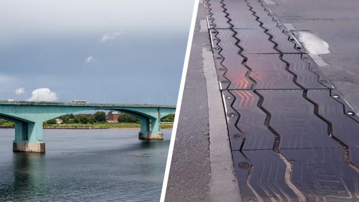 Ярославские автомобилисты предупредили чиновников, что на мосту через Волгу расходится шов
