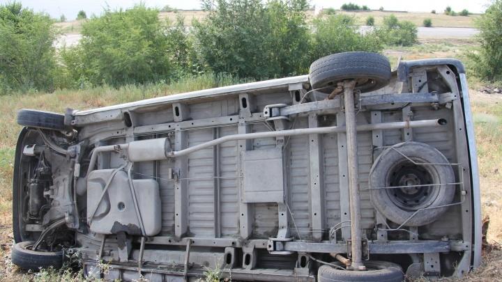 На севере Волгограда столкнулись два автобуса