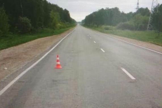 Сбитая женщина влетела в окно машины на новосибирской трассе и убила пассажира
