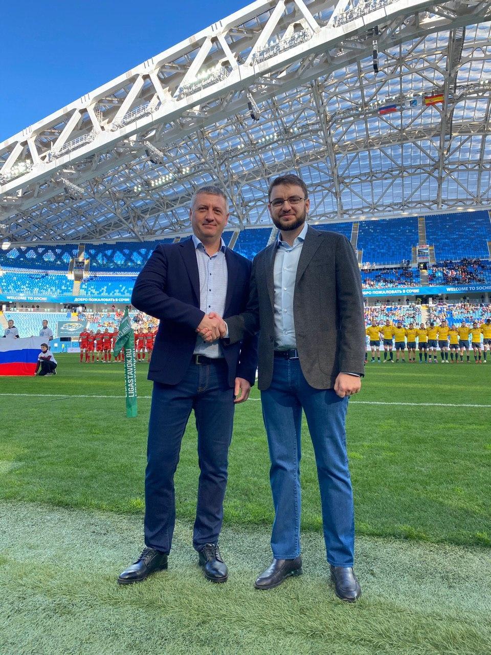 Генеральный директор ГК «ЭкоВоз» Денис Волков отметил, что регби не уступает по зрелищности футболу