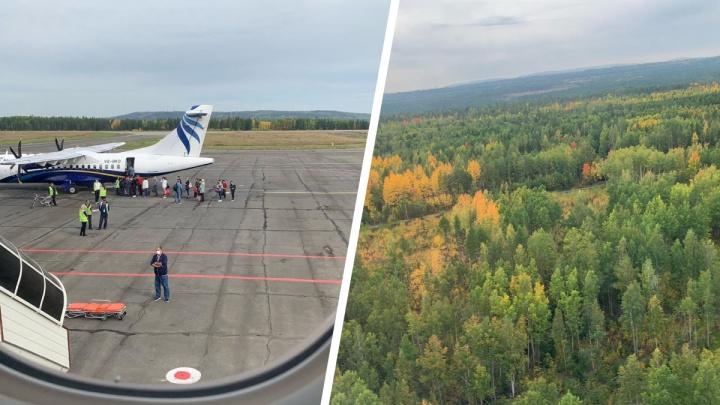 Самолет из Новосибирска экстренно сел в Братске — на борту была сенатор из Оренбургской области