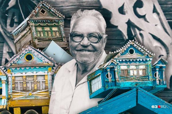 Дедушка Миша оставил своим односельчанам в наследство настоящие произведения искусства