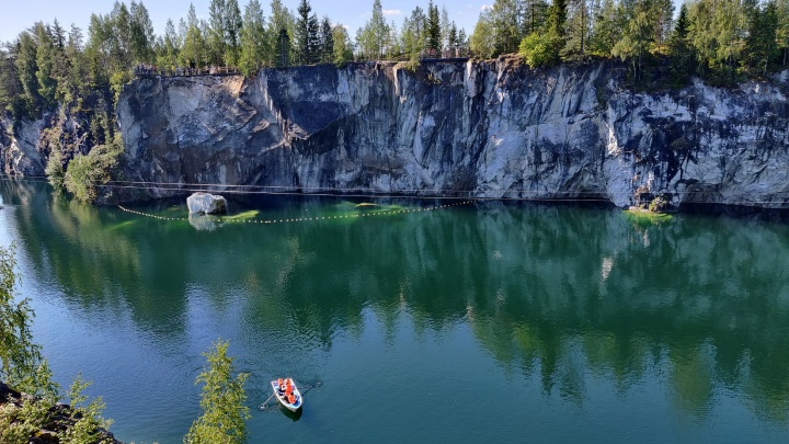 Горный парк с мраморным каньоном и крупнейшие озера Европы: Карелия глазами нижегородца