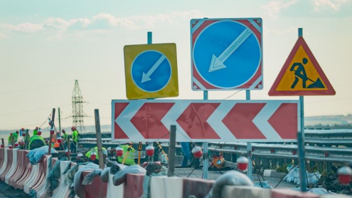 Многокилометровая пробка возникла на трассе М-4 в Ростовской области