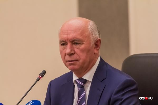 Николай Меркушкин возглавлял Самарскую область с 2012 по 2017 год