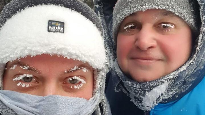 Цивилёв призвал гулять в морозы и дышать свежим воздухом. Хотя в Кузбассе режим «черного неба»
