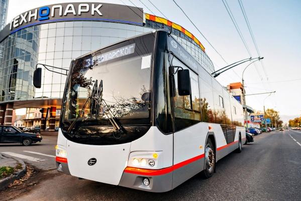 Так выглядит низкопольный троллейбус «Авангард»